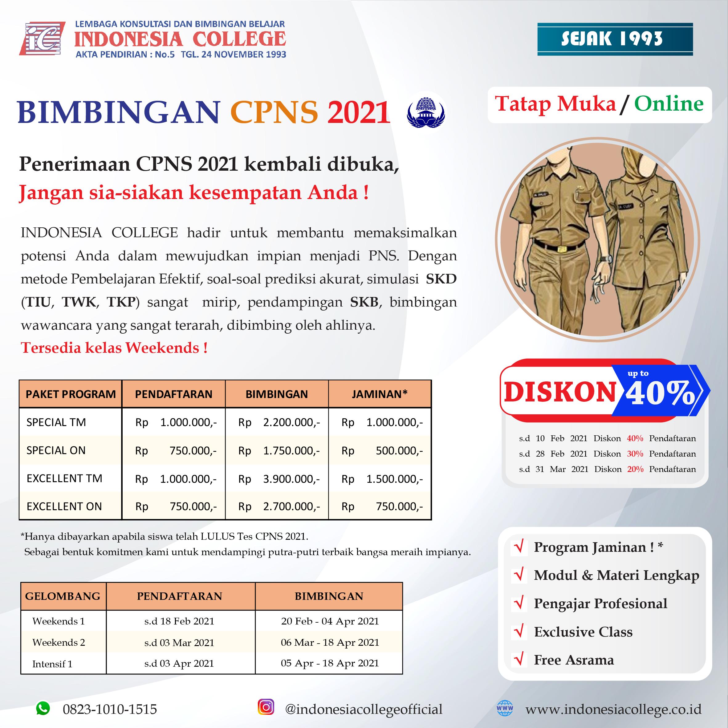 BIMBEL CPNS 2021