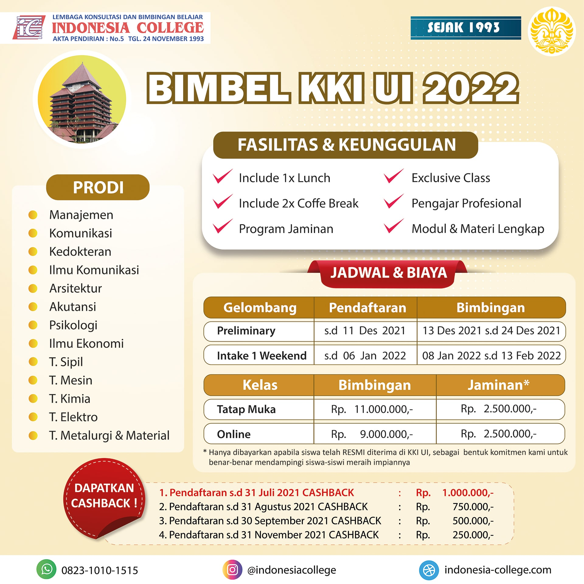 Bimbel KKI UI 2022